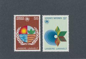 U.N. Vienna Scott #25-26 Complete Set