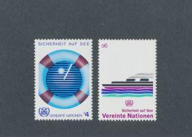 U.N. Vienna Scott #31-32 Complete Set