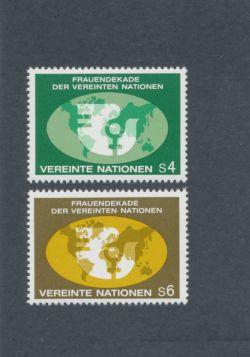 U.N. Vienna Scott #9-10 Complete Set
