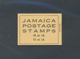 Jamaica Scott #116a-117a Complete Booklet