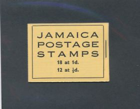 Jamaica Scott #148a-149a Complete Booklet