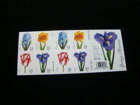 U.S. Scott #3903b Booklet Pane Of 20 Mint Never Hinged Spring Flowers