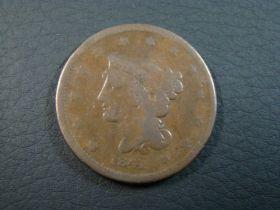 1841 Braided Hair Large Cent Good 50728