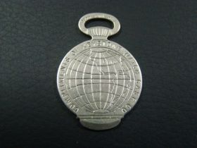 1893 World's Columbian Exposition Keystone Watch Case Co. Opener Souvenir Token