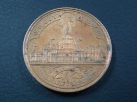 1893 Worlds Columbian Exposition United States Mint Exhibit Bronze Medal