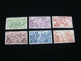 Indo China Scott #C20-C25 Set Mint Never Hinged