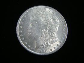 1896 Morgan Silver Dollar AU 50510
