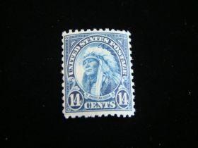 U.S. Scott #695 Mint Never Hinged American Indian