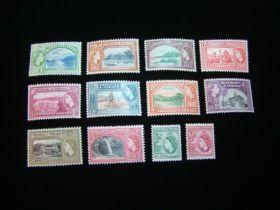 Trinidad & Tobago Scott #72-83 Set Mint Never Hinged