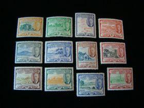 St. Kitts Nevis Scott #107-118 Set Mint Never Hinged