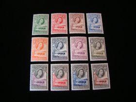 Bechuanaland Protectorate Scott #154-165 Set Mint Never Hinged