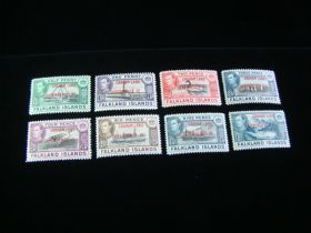 Falkland Islands Scott #z2L1-z2L8 Set Mint Never Hinged