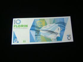 Aruba 1993 10 Florin Banknote Gem Uncirculated Pick #11