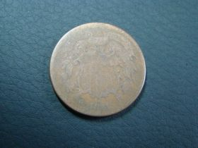 1871 Two Cents AG 30213