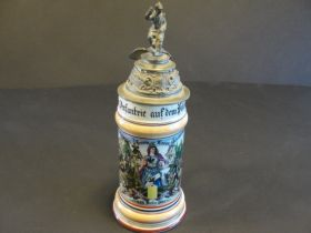 1899-1901 Imperial German Prussian Infantry Reserve Stein