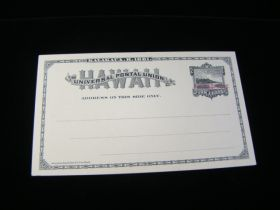Hawaii Scott #UX6 Postal Card Mint Never Hinged
