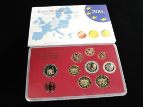 2006-J German Uncirculated Euro 9 Coin Set