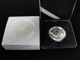 1997 Canadian RCM 10th Anniversary Silver Proof Loon Dollar