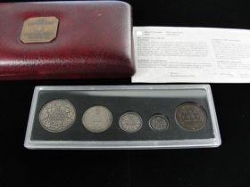 1998 Canadian RCM 90th Anniversary Antiqued 5 Coin Set