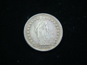 Switzerland 1921B Silver Franc VF KM#24 11023