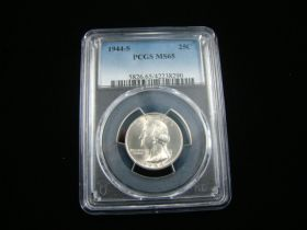 1944-S Washington Silver Quarter PCGS Graded MS65 #42238290