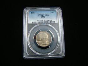 1965 Washington Quarter PCGS Graded SP66 SMS #42238294