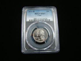 1976-D Washington Quarter PCGS Graded MS67 #42238296