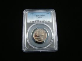 1967 Washington Quarter PCGS Graded SP67 SMS #42238297