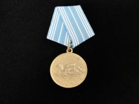 Soviet For the Salvation of the Drowning Medal