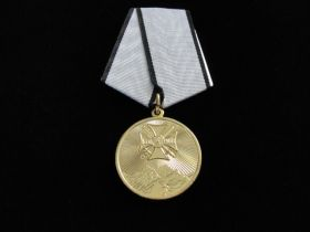 Russian North Caucuses Service Medal