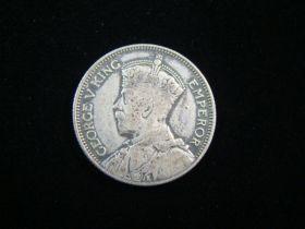 Fiji 1934 Silver Shilling VF KM#4 10920
