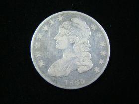 1835 Capped Bust Silver Half Dollar VG 21109