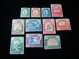 Aden Quaiti State Of Shihr & Mukalla Scott #1-11 Set Mint Never Hinged