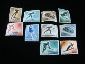 San Marino Scott #364-372,C95 Set Mint Never Hinged