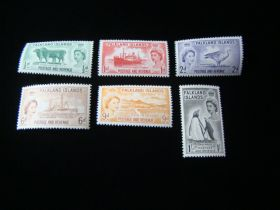 Falkland Islands Scott #122-127 Set Mint Never Hinged