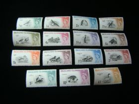Falkland Islands Scott #128-142 Set Mint Never Hinged