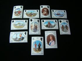 Falkland Islands Scott #360-370 Set Mint Never Hinged