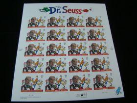 U.S. Scott #3835 Pane Of 20 Mint Never Hinged Dr. Seuss