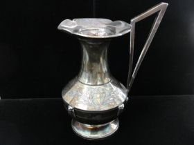 1867-72 Springfield Silver Plate Co. Springfield Mass Egyptian Revival Pitcher