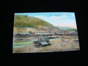 1907-15 Mullan Idaho Morning Mill Lead & Zinc Mine Postcard