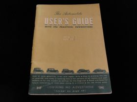 "General Motors ""The Automobile User's Guide"" Post WW2 Edition"