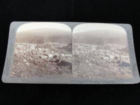 1901 Klondike Alaska Eldorado & Bonanza Mining Real Photo Stereoview Card