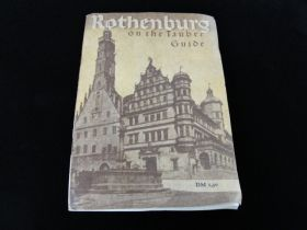 Vintage Rothenburg on the Tauber Guide Book