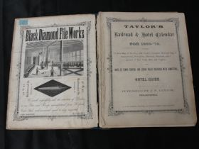 Antique Men's Jewelry and Trinket Wooden Box Dog and Field Decoration