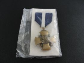 US Navy Cross Medal with Ribbon New in Plastic