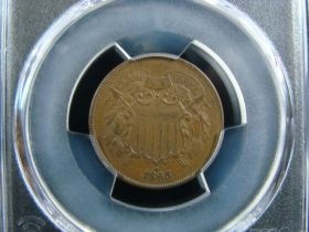 Antique Silver Toned Cuff Link Pair In Original Red And Silver Box