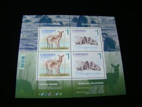 Canada Scott #1689b Sheet Of 4 Mint Never Hinged