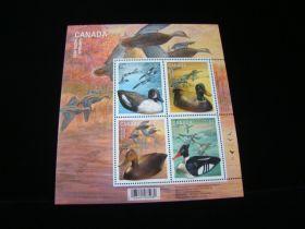 Canada Scott #2166b Sheet Of 4 Mint Never Hinged