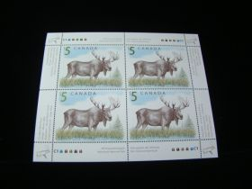 Canada Scott #1693 Plate # Block Of 4 Mint Never Hinged