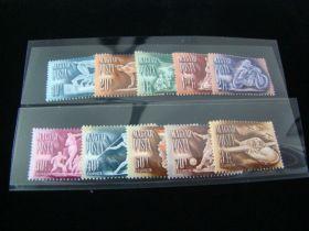 Hungary Scott #920-924,C82-C86 Set Mint Never Hinged
